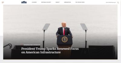 сайт Белого дома перешел с CMS Drupal на WordPress